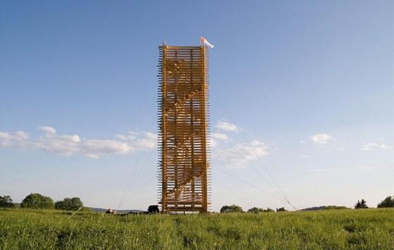 Věž Scholzberg u Horního Maxova
