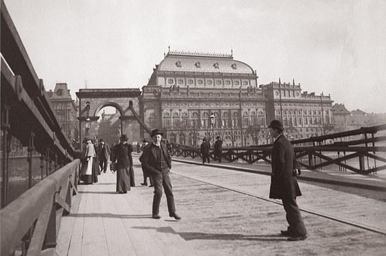 Pohled na Národní divadlo