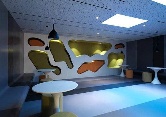 Interiér nabízí i různé typy osvětlení.