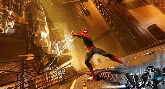 Ve hře Spider-Man: Edge of Time