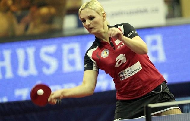 Ma�arská stolní tenistka Vivien Éllö nastupuje za B�eclav.
