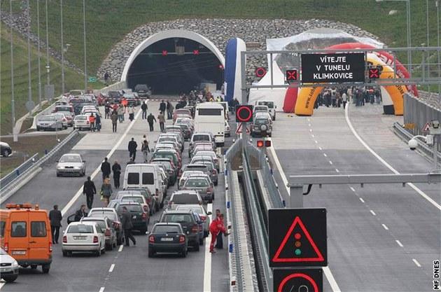 Slavnostní otev�ení �ásti dálnice D 47 v úseku Ostrava Poruba Rudná do Bílovce