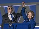 Meryl Streepová ve filmu Železná lady