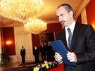 Nov� ministr pr�myslu a obchodu Martin Kuba si odn�� jmenov�n� do ��adu od