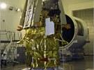 Sonda Phobos-Grunt při přípravě na Zemi