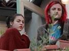 Frances Bean Cobainová a Isaiah Silva