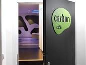 Vstup do Carbon café