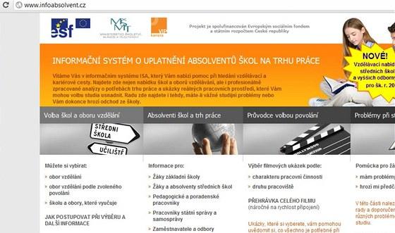 Infoabsolvent.cz