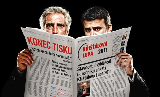 Ján Simkanič spolu s Tomášem Hanákem zvou na vyhlášení anektry Křišťálová lupa
