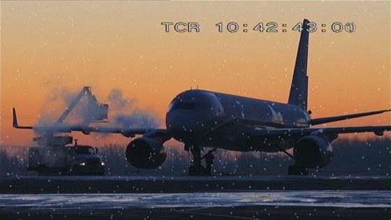 Odmrazování letounu