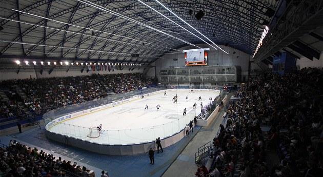 PLNÝ STADION. Na každý domácí zápas hokejistů Lva Poprad zatím bývá plno.