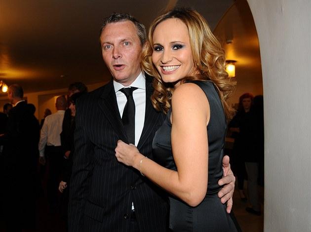 �eský slavík 2011 - Monika Absolonová s partnerem
