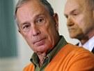 Starosta New Yorku Michael Bloomberg (21. listopadu 2011)