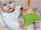 Textilní chrastítka pro děti (Šapitó)