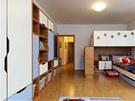 Pokoj má 22 metrů čtverečních.