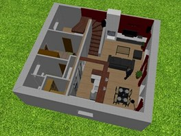 3D v�stup ze Sweet Home 3D