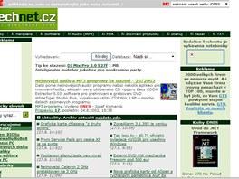 Technet.cz z v roce 2002