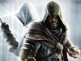 Ezio (vpravo)