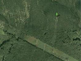 Stopy tragédie letu TABSO jsou na leteckých snímcích vidět dodnes