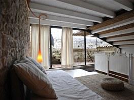 Každý z šestice pokojů v Casa Talia má vlastní terasu s úžasným výhledem na
