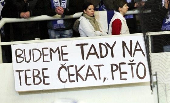 Fanoušci Komety Brno věří, že se Petr Hubáček do klubu brzy vrátí.