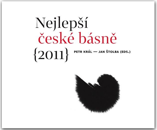 Titulní strana svazku Nejlep�í �eské básn� (2011)