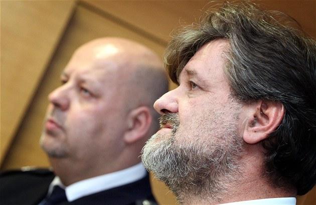 Ministr vnitra Jan Kubice (vpravo) a policejní prezident Petr Lessy na tiskové