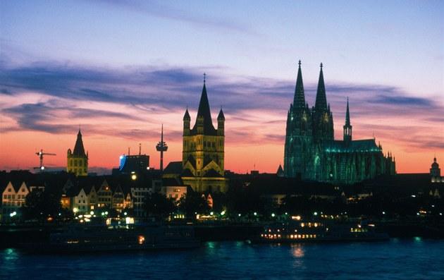 Kolín nad Rýnem, panorama s katedrálou