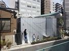 Na pozemku o rozloze 115 metrů čtverečních vznikla dvoupodlažní opláštěná