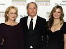 Meryl Streepová, její manžel Don Gummer a dcera Grace
