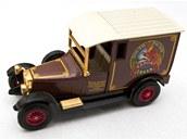 Model vozuTalbot one z rozsáhlé sbírky angličíků Petra Novotného z Kadaně