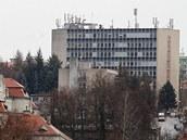 Panelový dům v Ústí nad Orlicí
