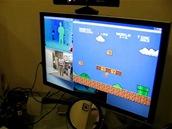 Kinect a Mario