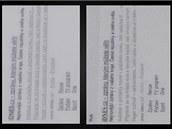 Porovnání displejů čtečky Kindle (nalevo) a eReading.cz (napravo). U eReading