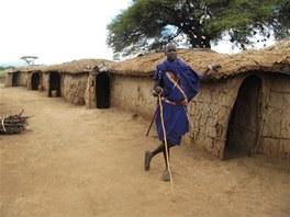 místní obyvatel - Keňa
