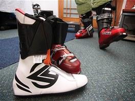 Přesnou velikost boty nedocílíte skeletem ani vnitřní botičkou - ty bývají