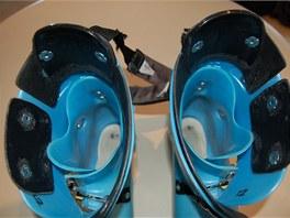 Jak vypadá vnitřek boty (vyztužený) špičkového závodníka světového poháru