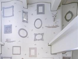 Originální stěnu vytvořilo japonské designérské studio Nendo se sídlem v Tokiu.