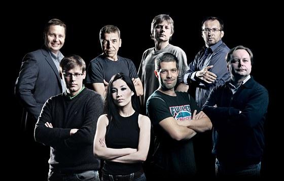Fotografové MF DNES: (nahoře zleva) David Neff, Radek Cihla, Michal Sváček, Dan