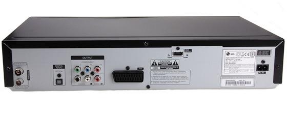 LG RCT-689H ... konektory na zadním panelu