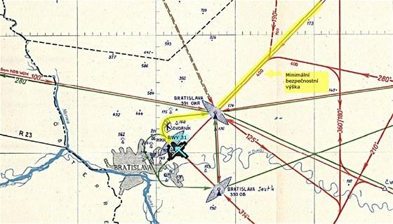 Okrsková mapa LKIB výsek