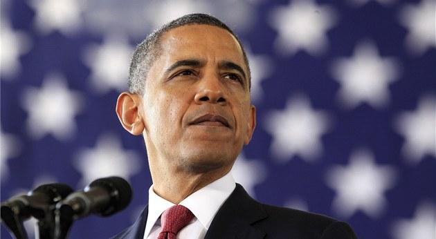 Prezident USA Barack Obama na základn� Fort Bragg (14. prosince 2011)