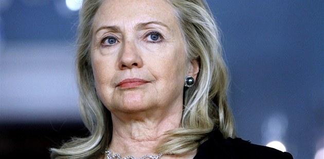 Americká ministryn� zahrani�ních v�cí Hillary Clintonová (18. prosince 2011)