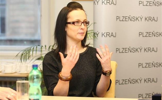 Sandra Křížková, jedna ze tří zachránců lidských životů, které ocenil hejtman