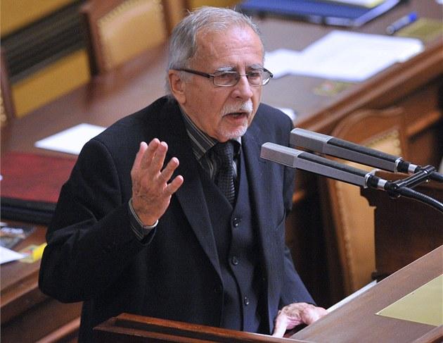 Poslanec ČSSD Stanislav Křeček