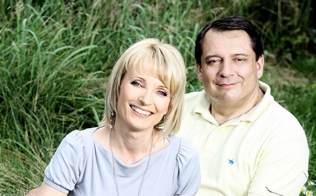 Ji�í a Petra Paroubkovi
