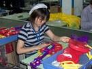 Jedna z továren na hračky v Číně