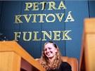Petra Kvitov� na setk�n� s fulneck�mi ob�any. (13. prosince 2011)