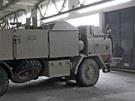 Ve vojenském prostoru Rančířov jsou ve skladu dvě obrněné tatry za 18 milionů