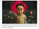 Kim Čong-il kouká na ...